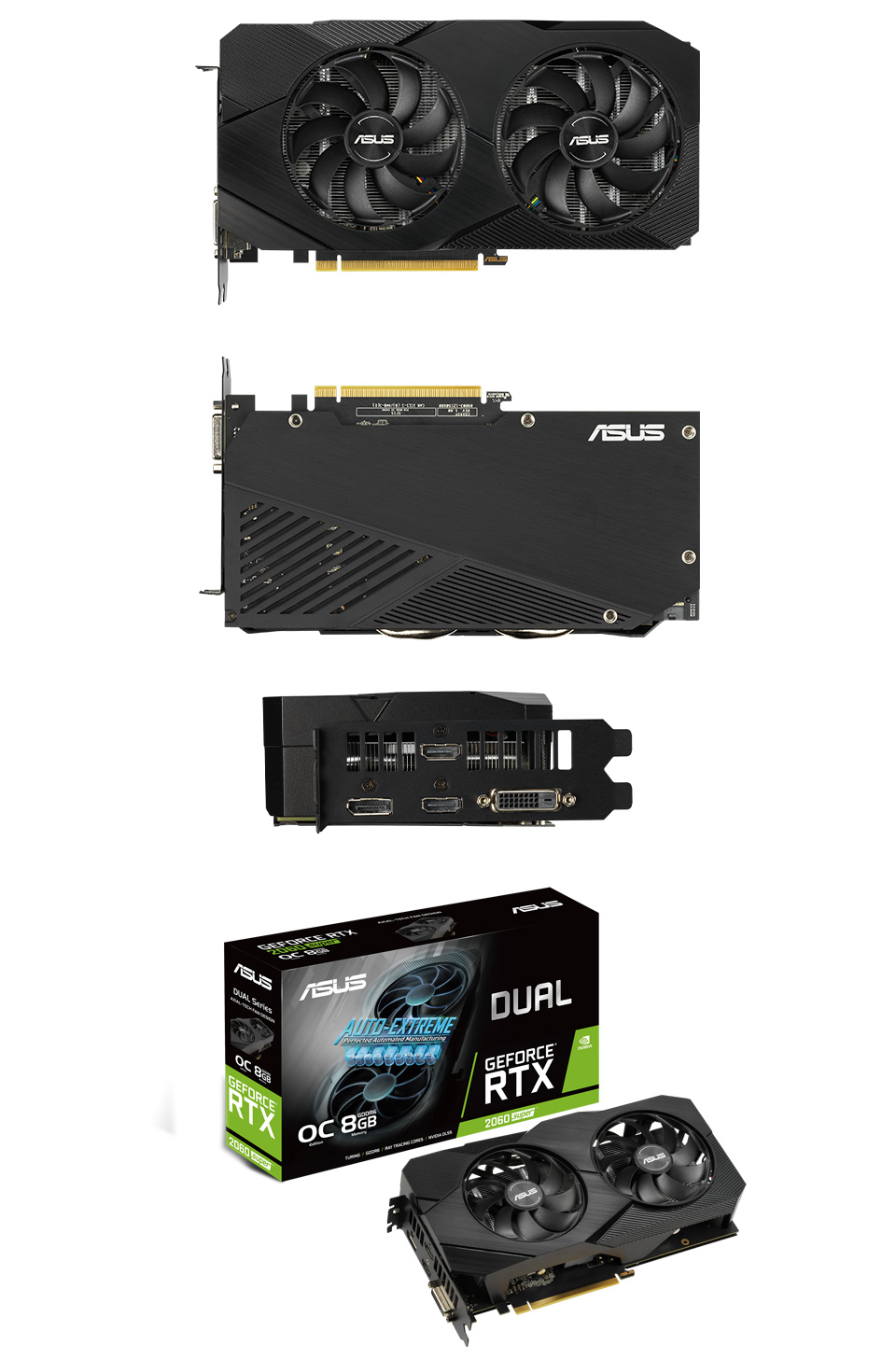 ASUS GeForce RTX 2060 Super Dual OC EVO 8GB V2 product