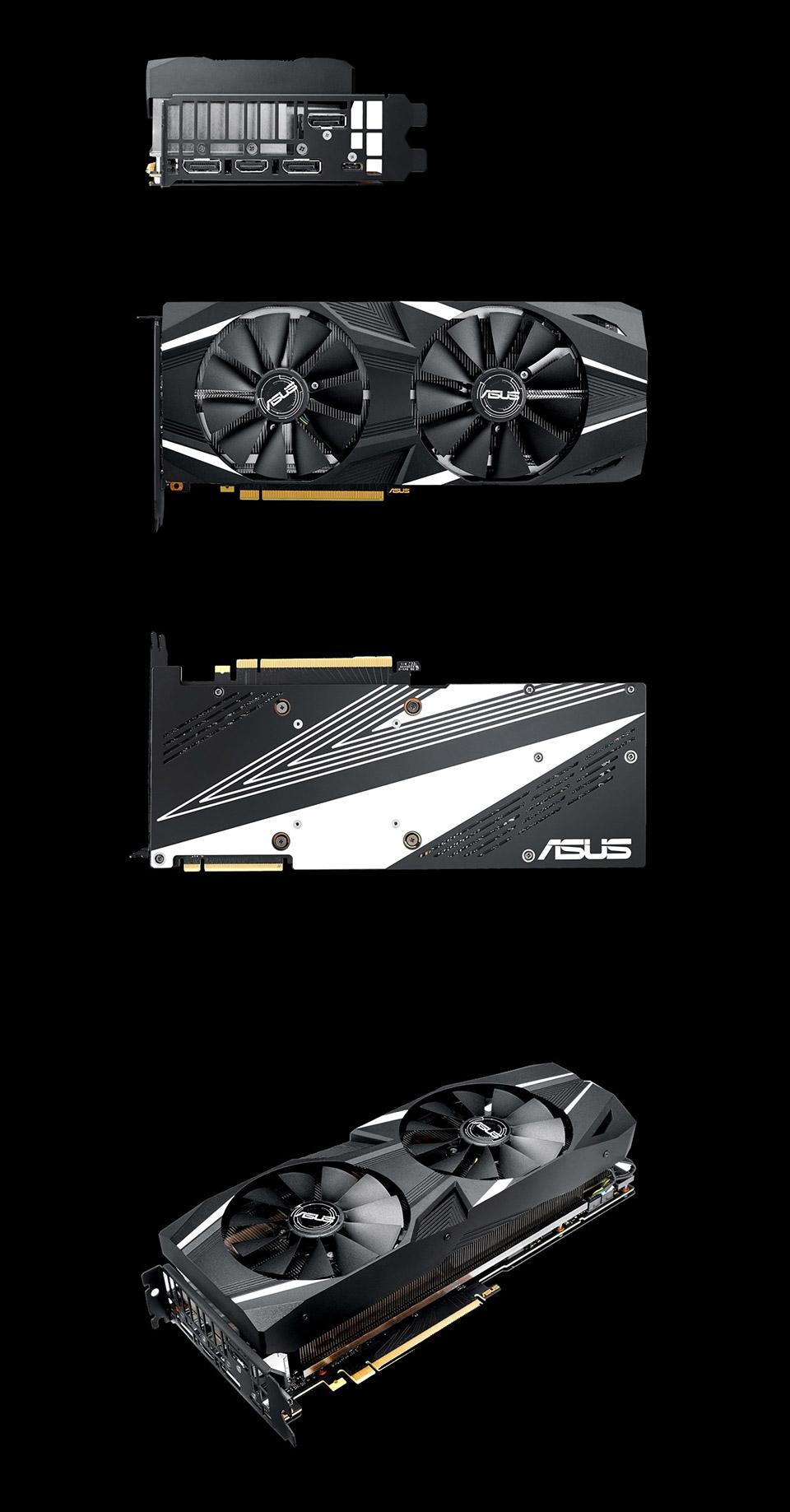 ASUS GeForce RTX 2080 Dual Fan OC 8GB [DUAL-RTX2080-O8G