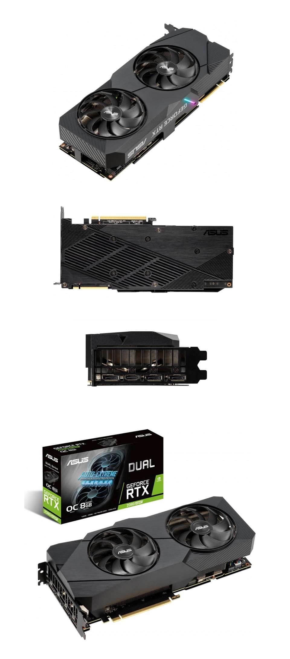 ASUS GeForce RTX 2080 Super Dual OC EVO 8GB V2 product
