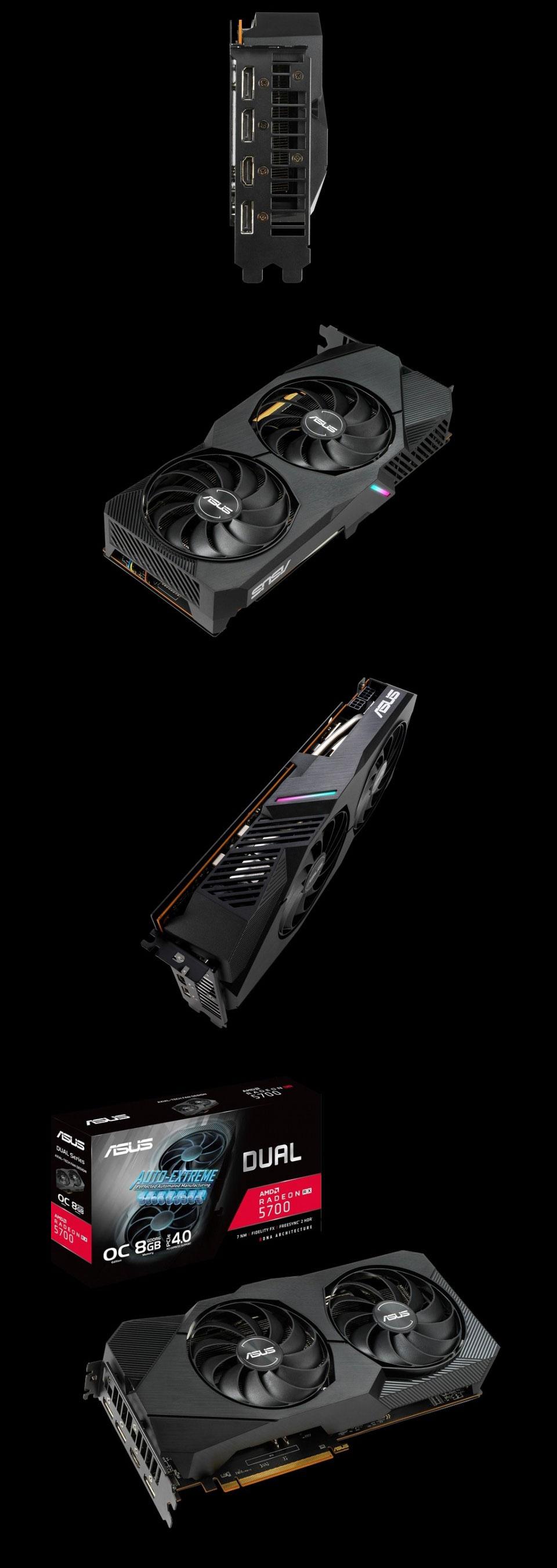 ASUS Radeon RX 5700 Dual EVO OC 8GB product