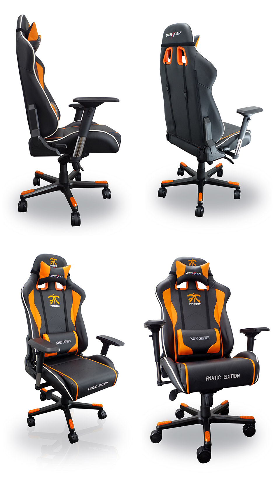 Awe Inspiring Dxracer K Series Pc Office Gaming Chair Fnatic Edition Dxr Theyellowbook Wood Chair Design Ideas Theyellowbookinfo