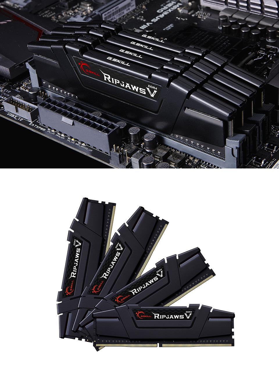 G.Skill Ripjaws V F4-3200C14Q-32GVK 32GB (4x8GB) DDR4 product