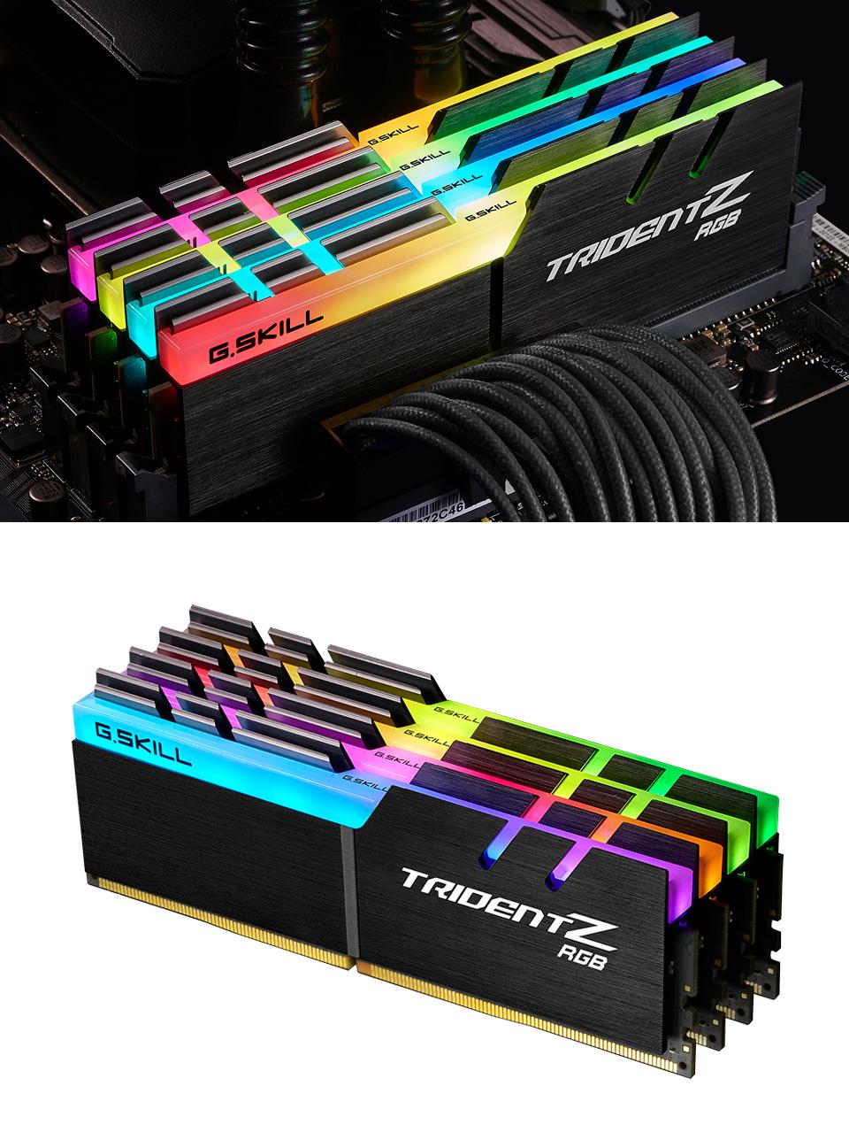 G.Skill Trident Z RGB F4-3600C16Q-64GTZRC 64GB (4x16GB) DDR4 product