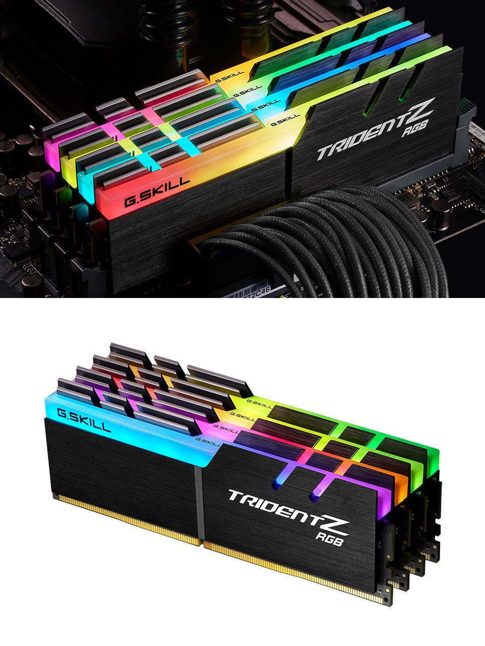 G.Skill Trident Z RGB F4-3600C18Q-64GTZR 64GB (4x16GB) DDR4 product