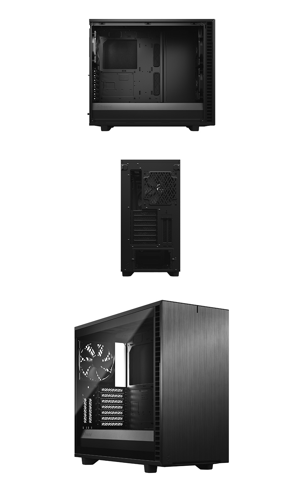 Fractal Design Define 7 Tempered Glass Black product