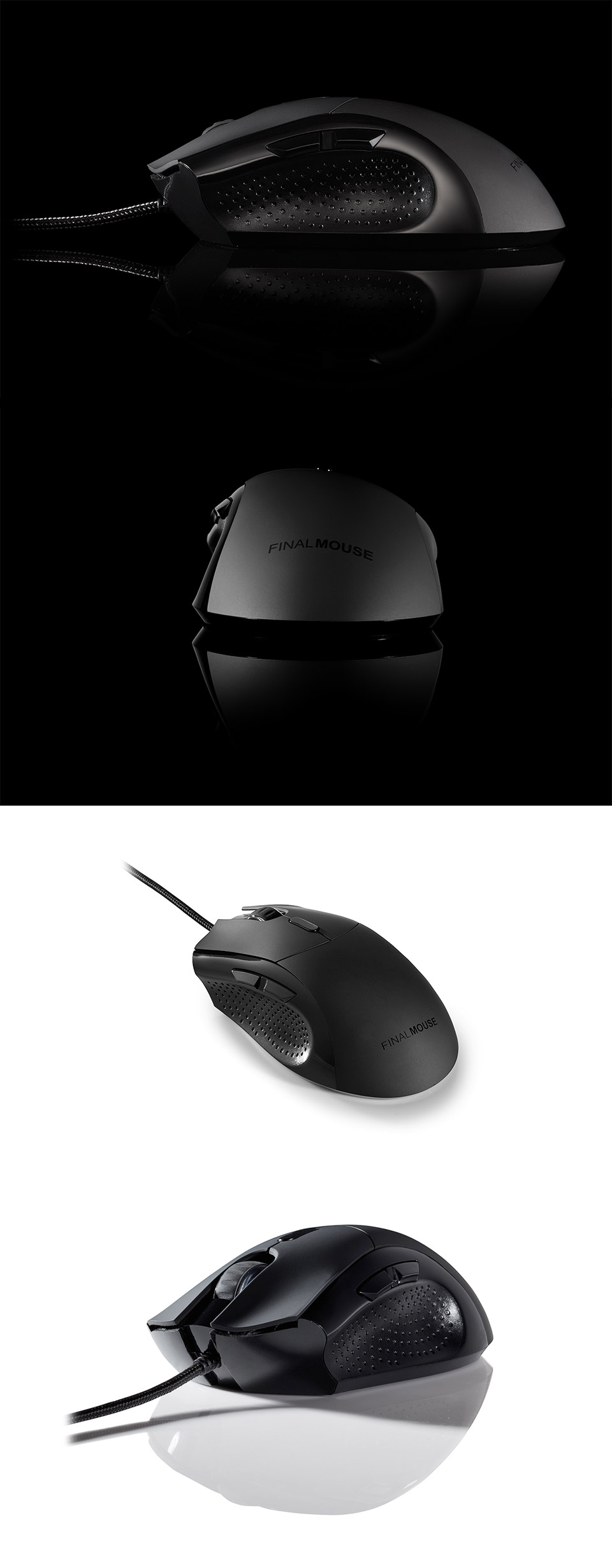 d2d11dcb05d Finalmouse Classic Ergo 2 Gaming Mouse Black [FM-CLASSIC-ERGO-2 ...