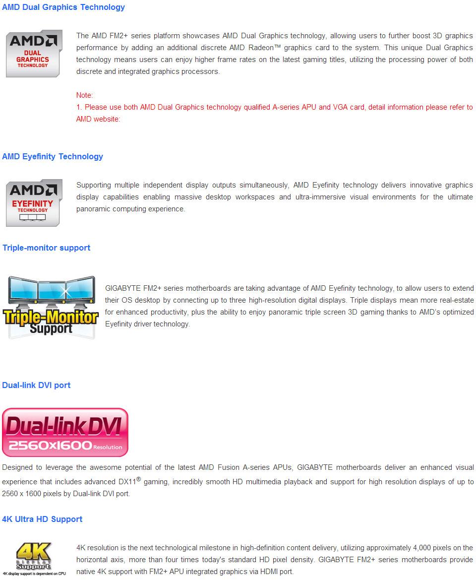 Gigabyte GA-F2A78M-HD2 Motherboard [GA-F2A78M-HD2] : PC Case Gear