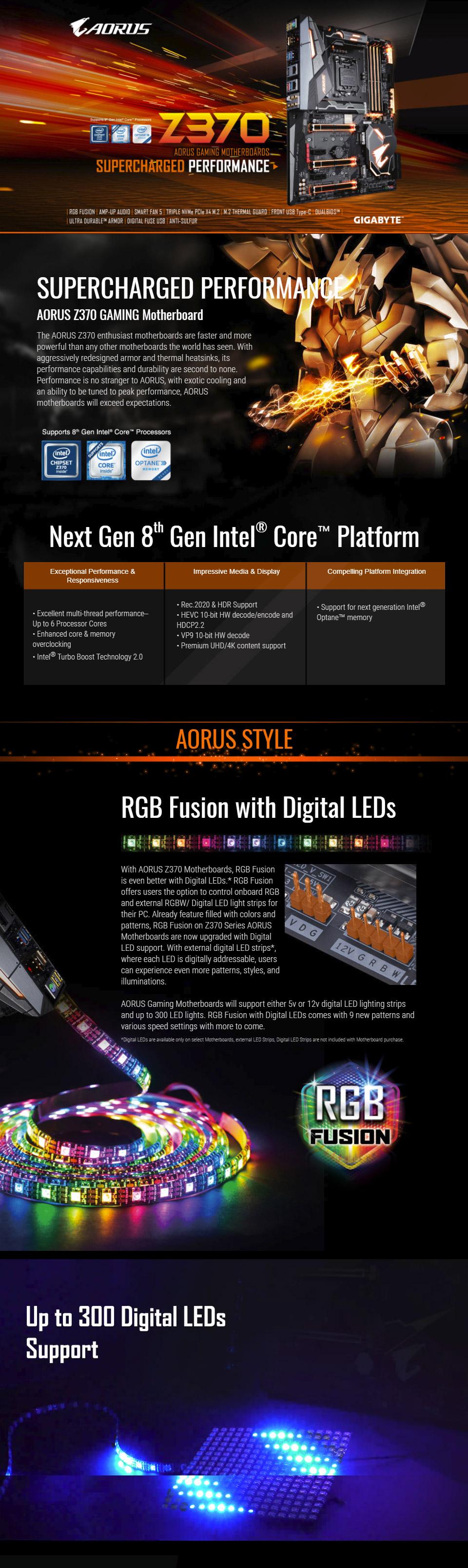 Gigabyte Z370 AORUS Gaming 7 Motherboard [GA-Z370-AORUS