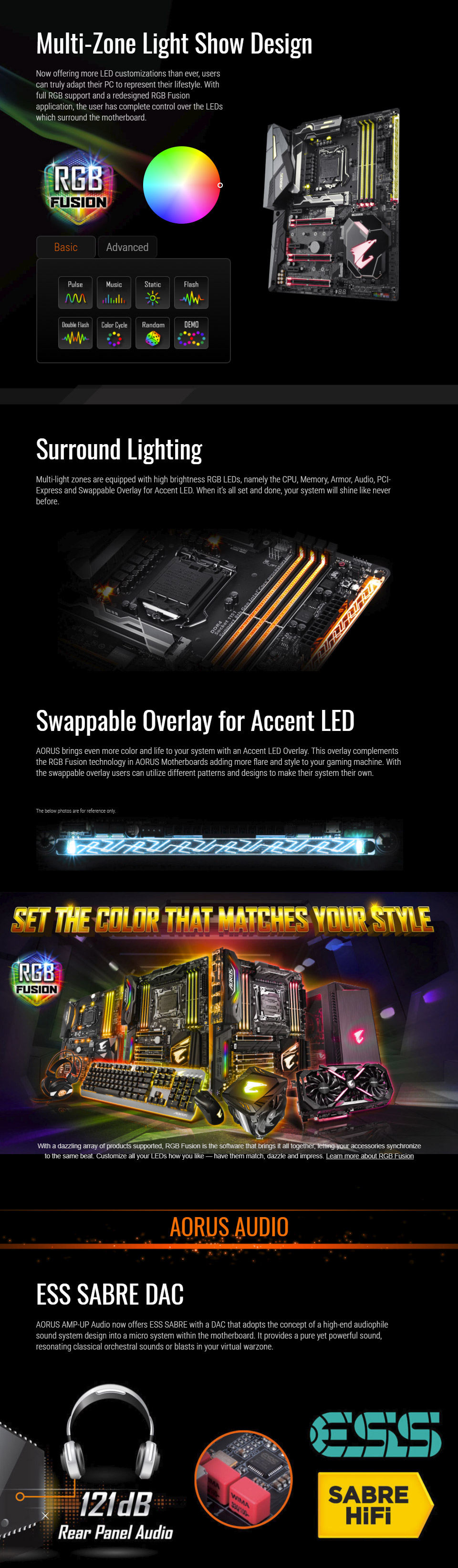 GIGABYTE Z370 AORUS Gaming 7 Intel LGA1151/ATX/Front USB 3 1/RGB Fusion  Motherboard