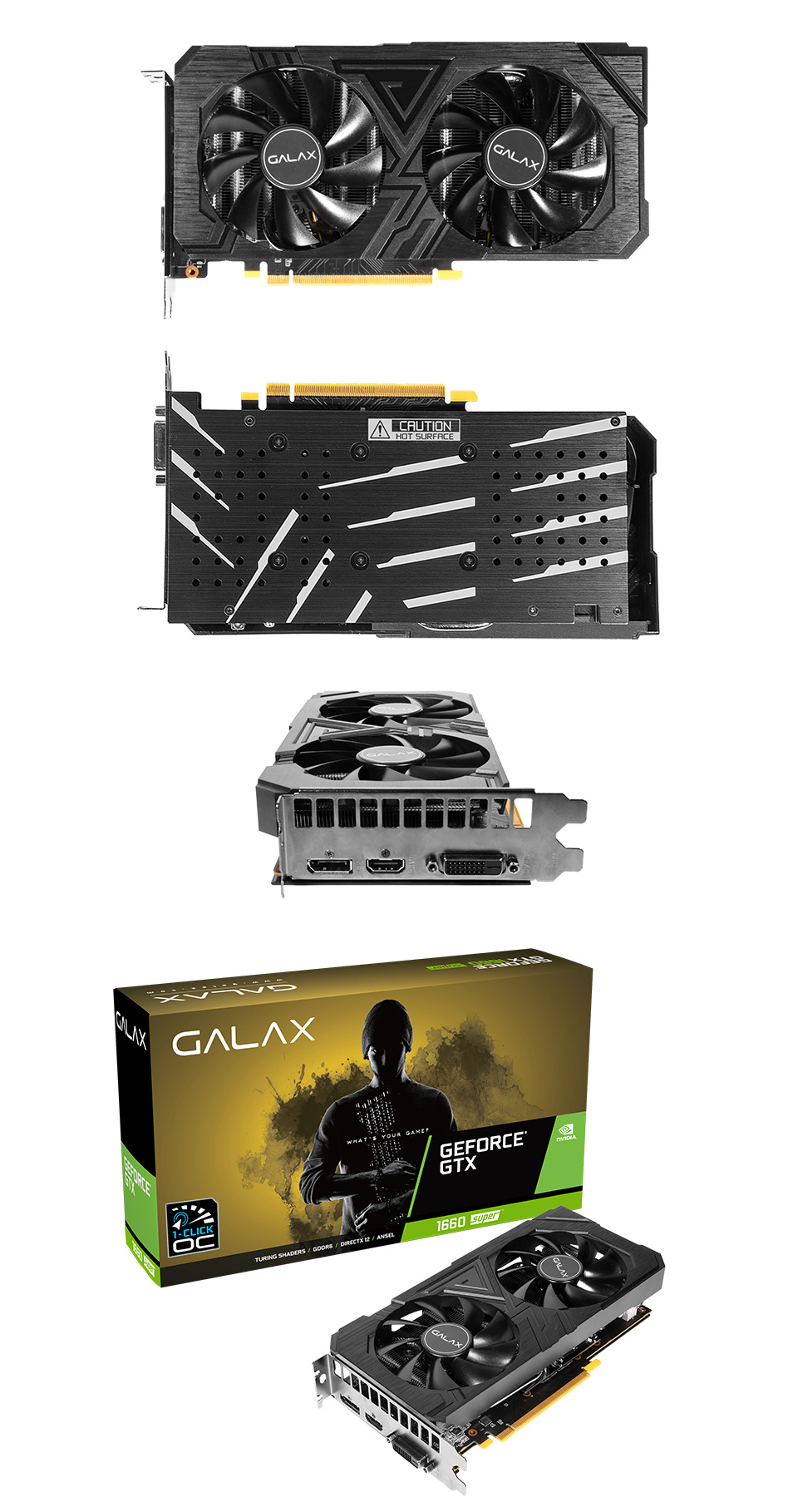 Galax GeForce GTX 1660 Super EX 1-Click OC 6GB product