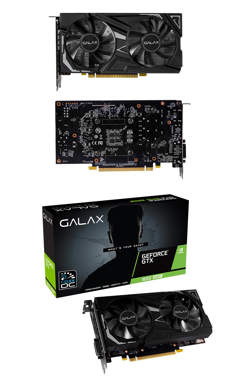 Galax GeForce GTX 1650 Super EX 1-Click OC 4GB product