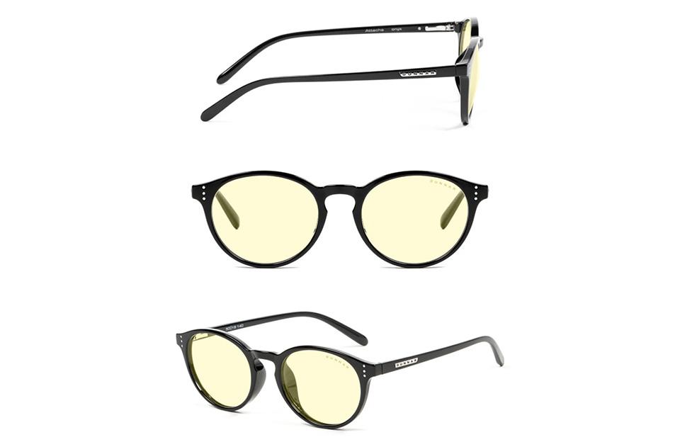 Gunnar Attache Onyx Amber Indoor Digital Eyewear product