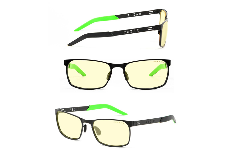 Gunnar Razer FPS Onyx Amber Indoor Digital Eyewear product