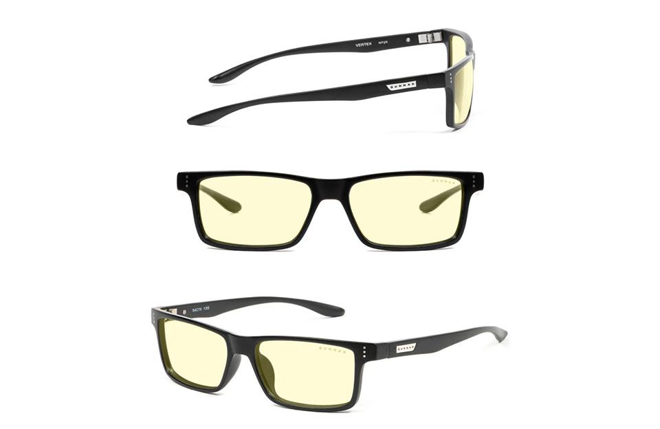Gunnar Vertex Onyx Amber Indoor Digital Eyewear product