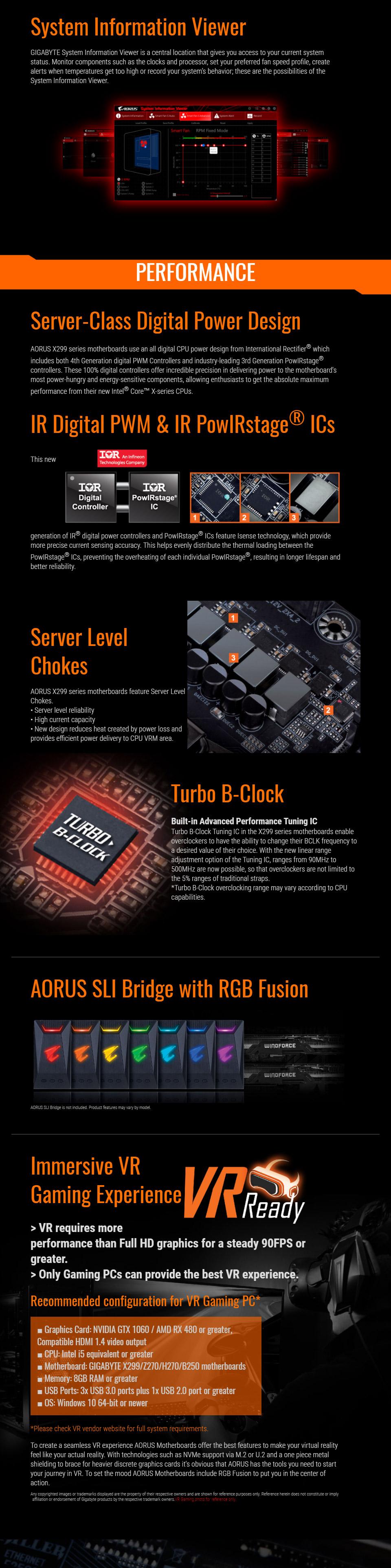 Gigabyte X299 AORUS Gaming 3 Motherboard [GN-X299-AORUS