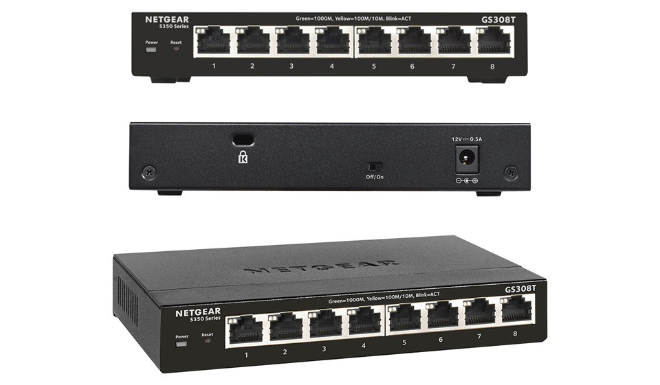 Netgear GS308T 8-port Gigabit Managed Pro Switch product
