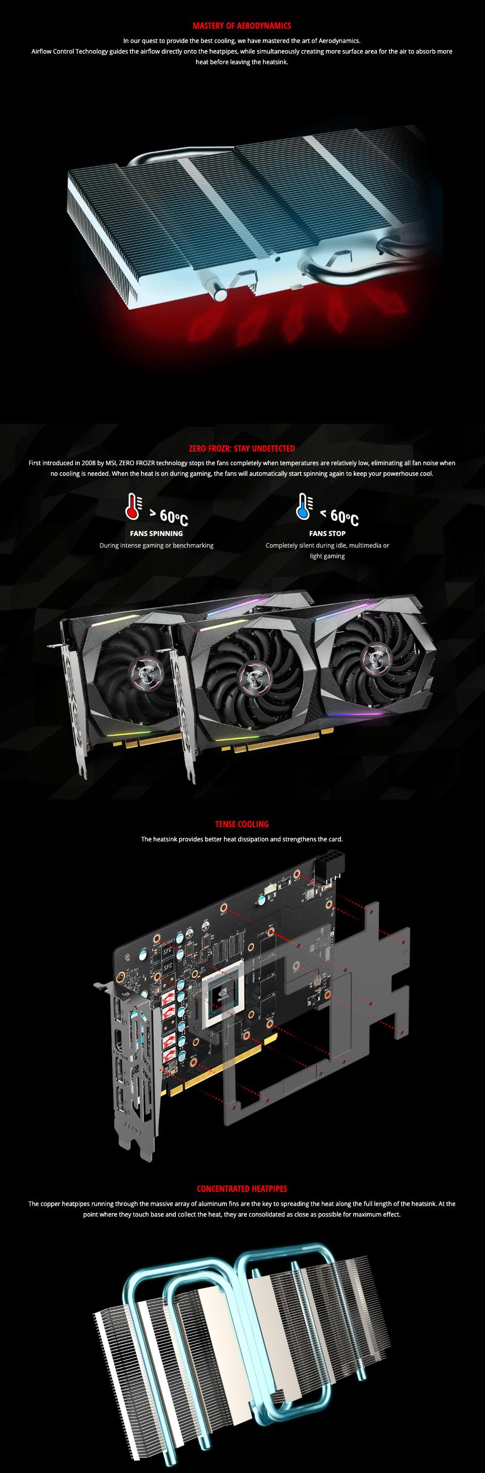 MSI GeForce GTX 1660 Super Gaming X 6GB features 3
