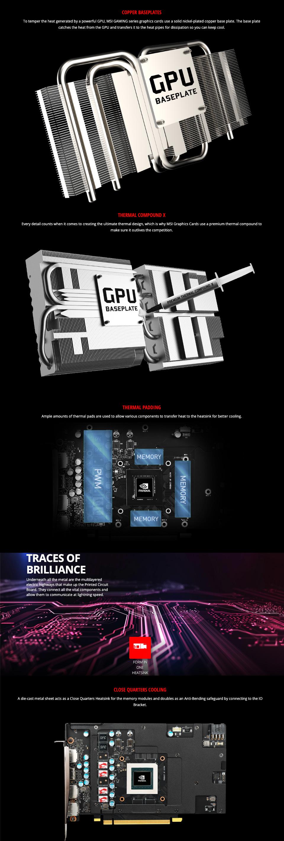 MSI GeForce GTX 1660 Super Gaming X 6GB features 4