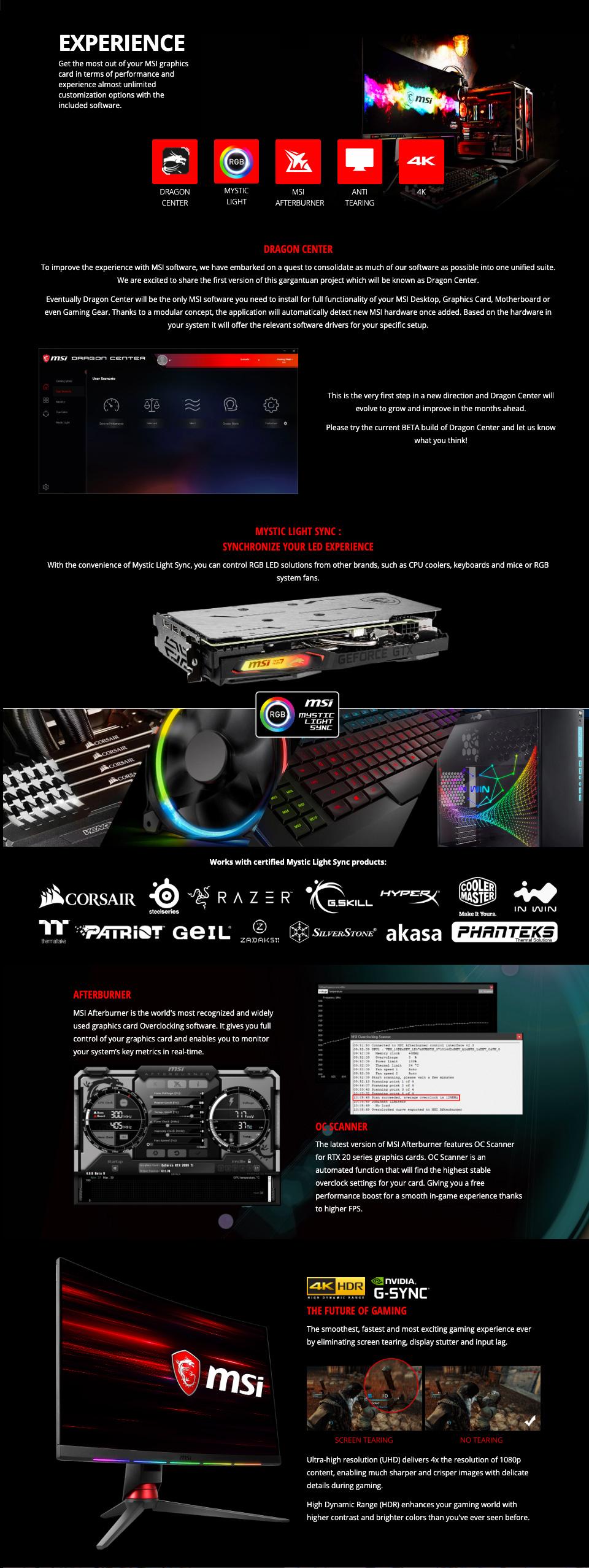 MSI GeForce GTX 1660 Super Gaming X 6GB features 5