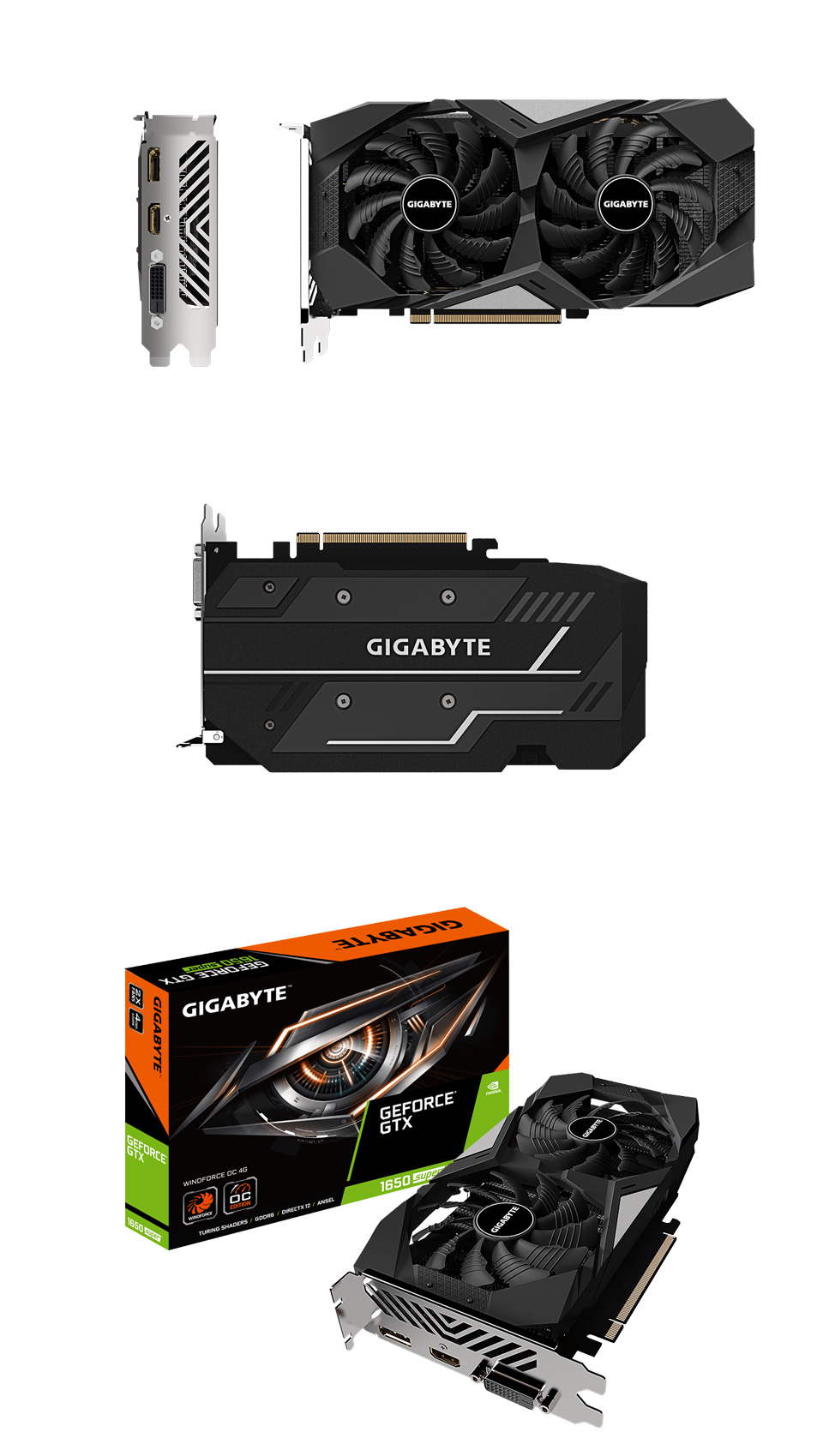 Gigabyte GeForce GTX 1650 Super WindForce OC 4GB product
