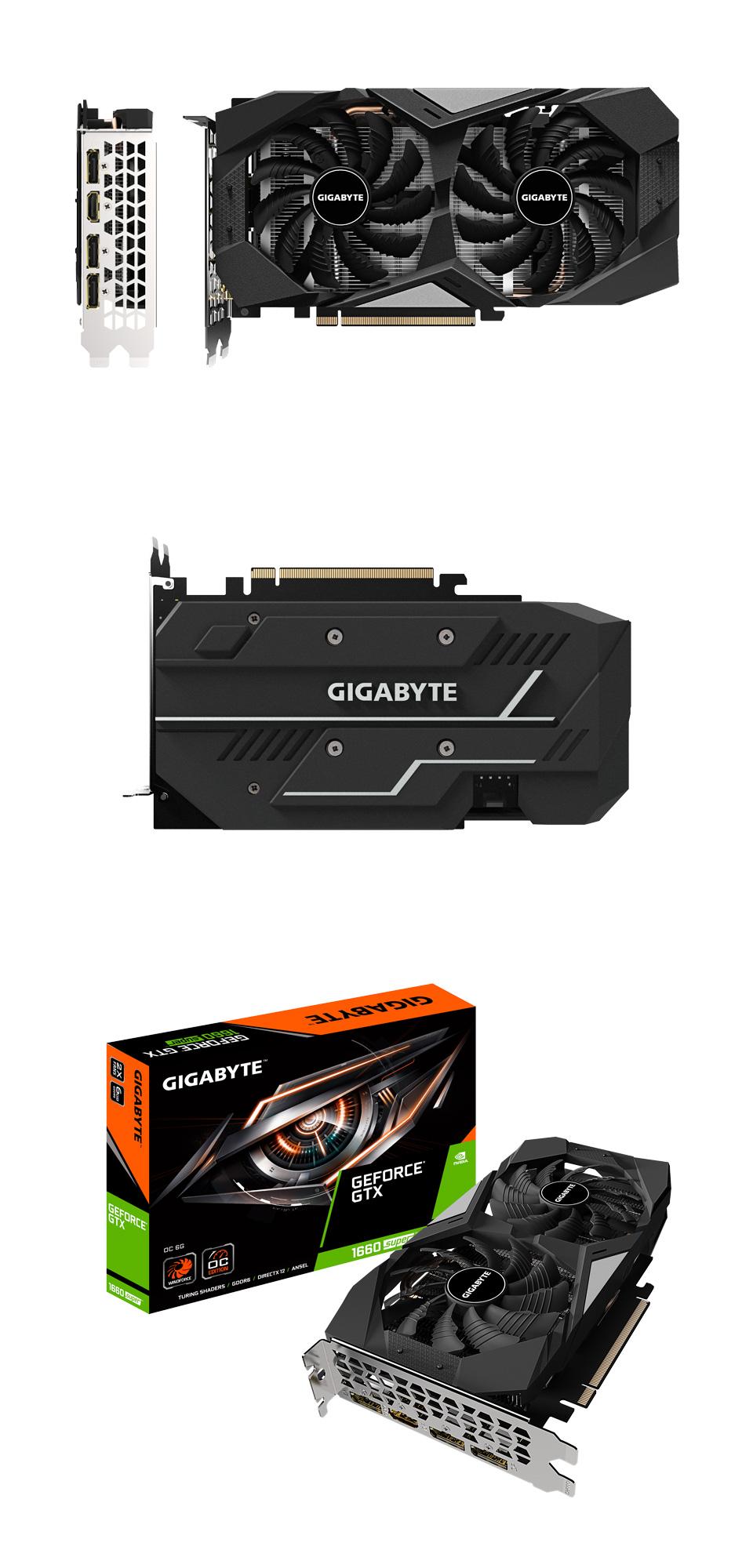Gigabyte GeForce GTX 1660 Super OC 6GB product