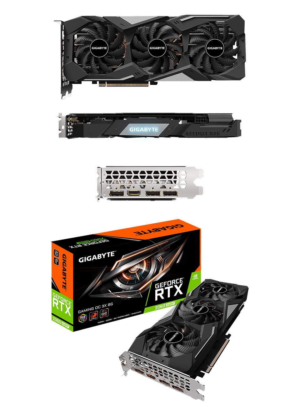Gigabyte GeForce RTX 2060 Super Gaming OC 3X R2 8GB product