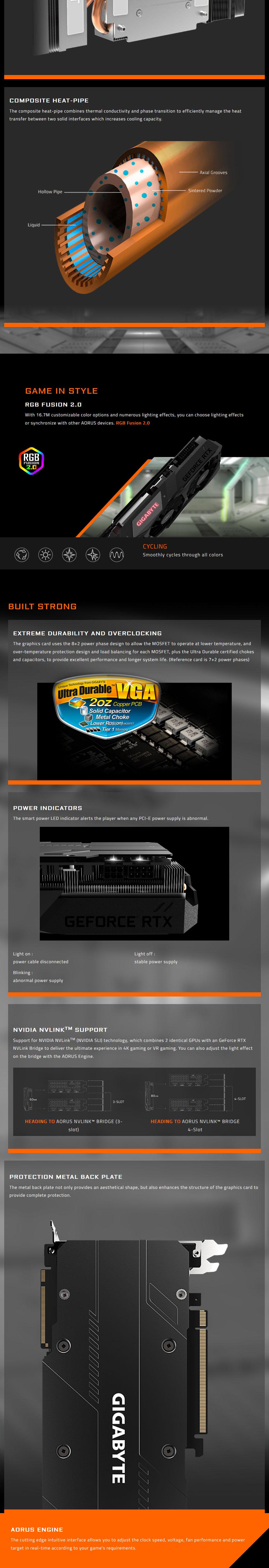 Gigabyte GeForce RTX 2070 Super Gaming OC 8GB