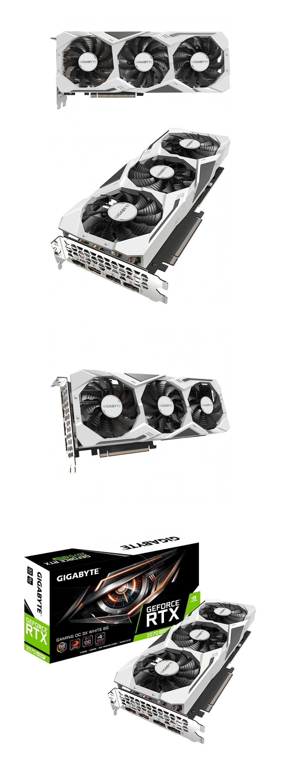 Gigabyte GeForce RTX 2070 Super Gaming OC 8GB White product