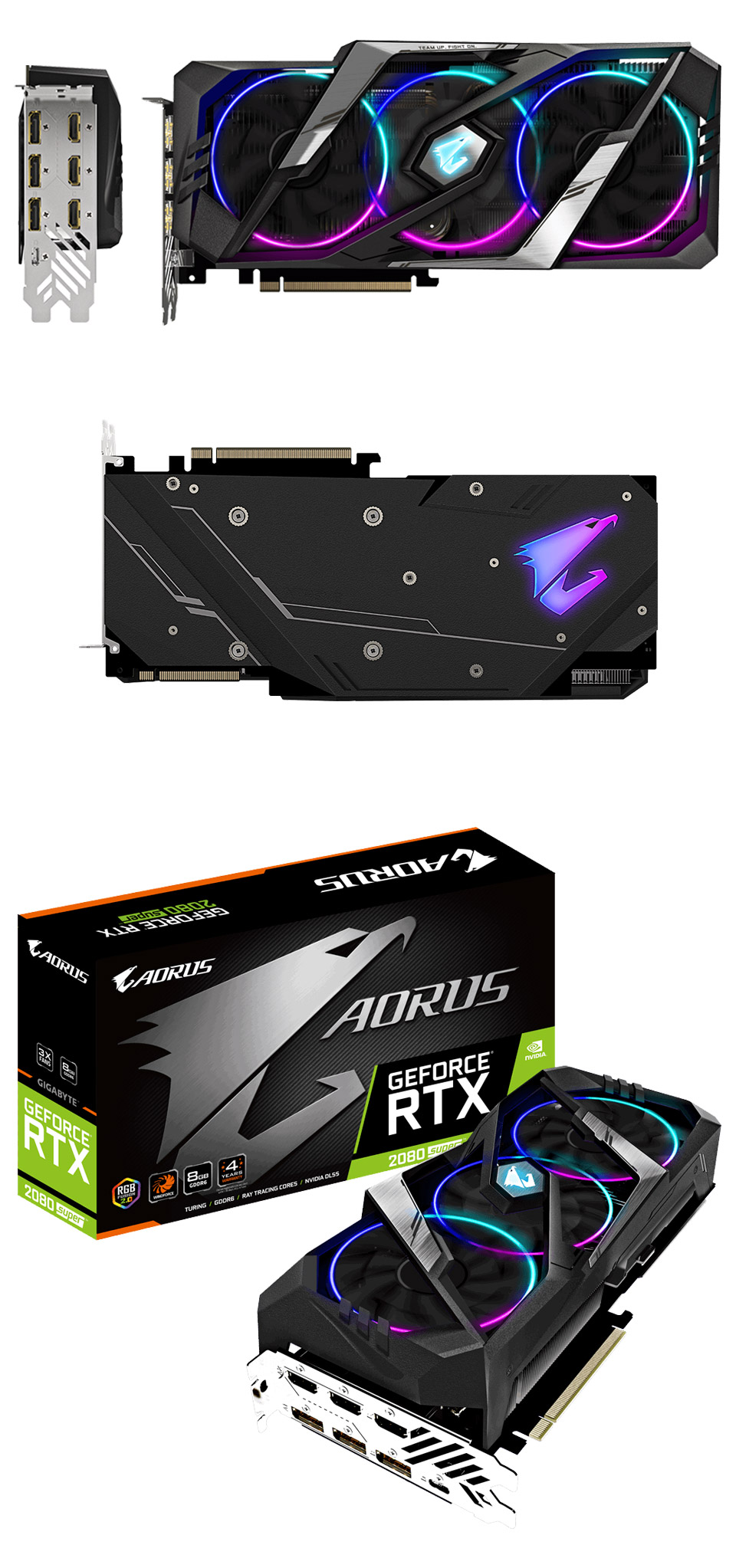 Gigabyte GeForce RTX 2080 Super Aorus 8GB