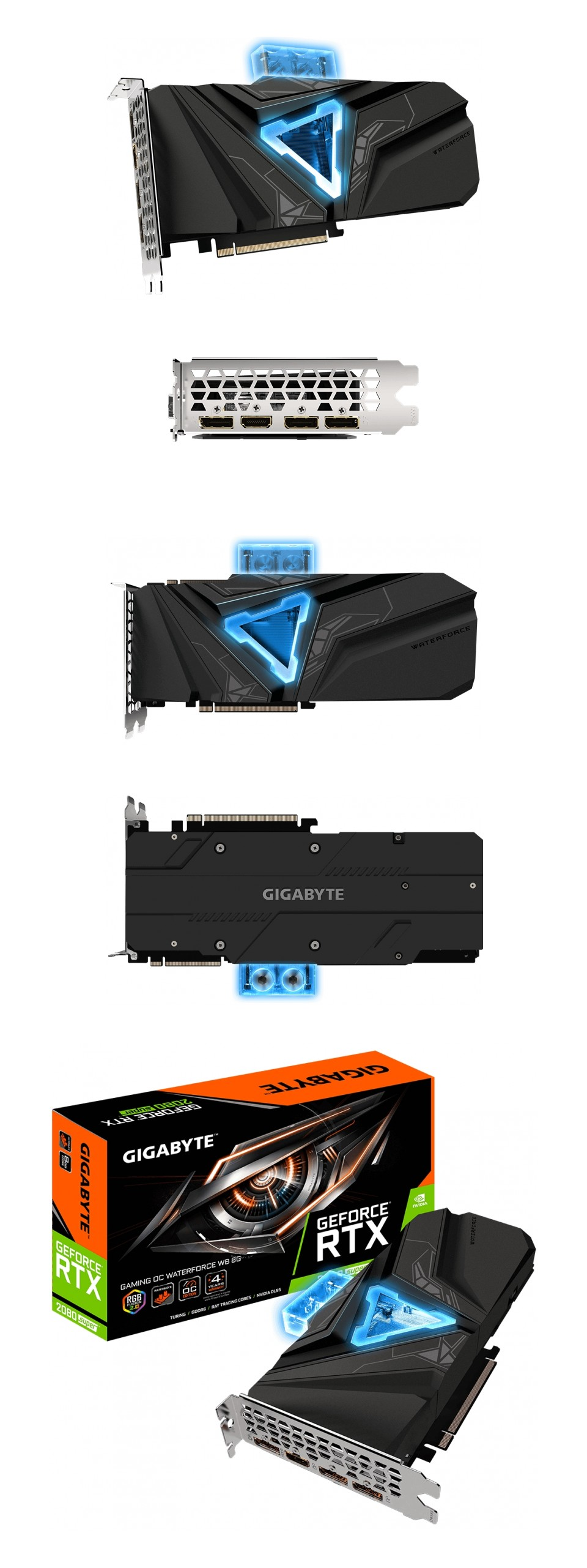 Gigabyte GeForce RTX 2080 Super Gaming OC Waterforce WB 8G product