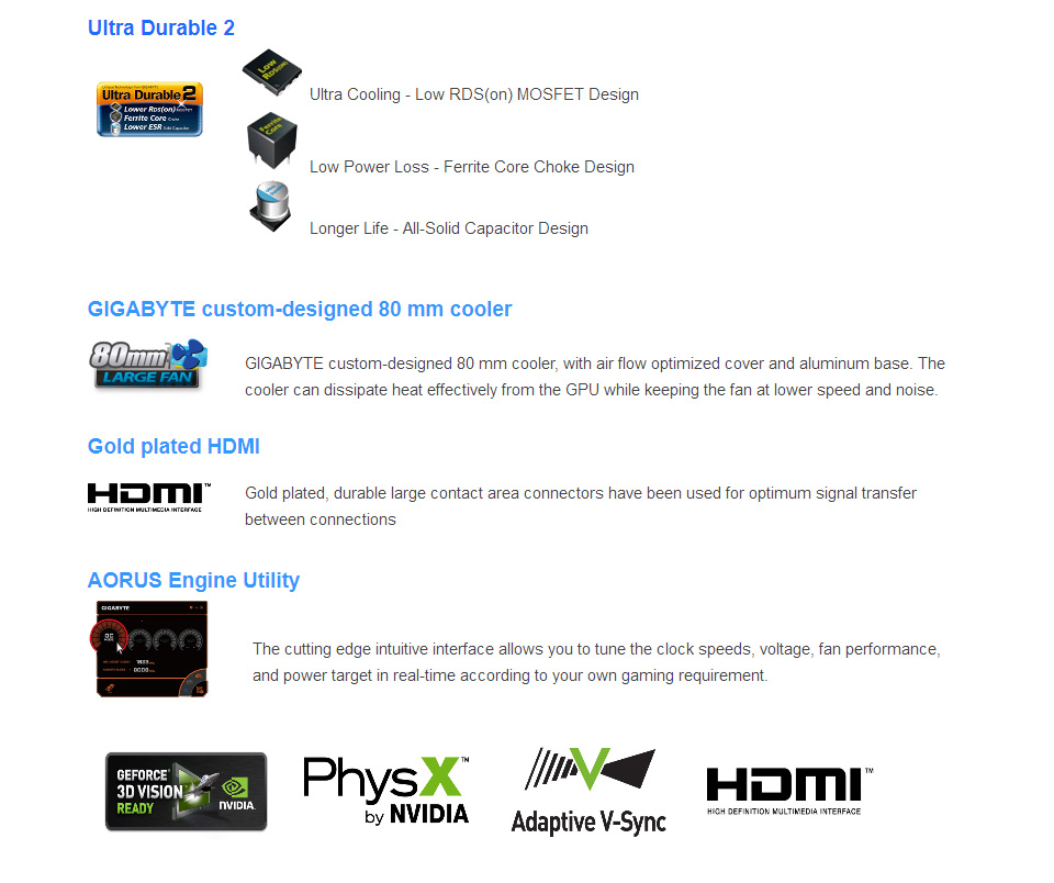 Gigabyte GeForce GT 730 2GB