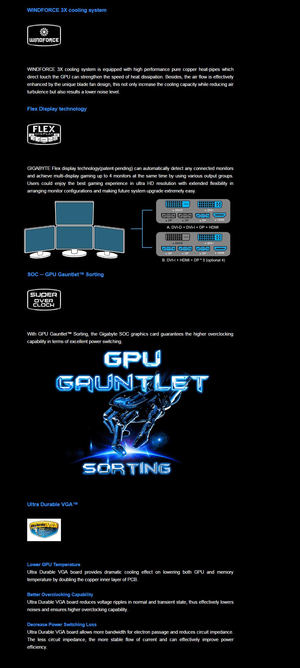 Gigabyte GeForce GTX 970 G1 Gaming 4GB [GV-N970G1-GAMING-4GD