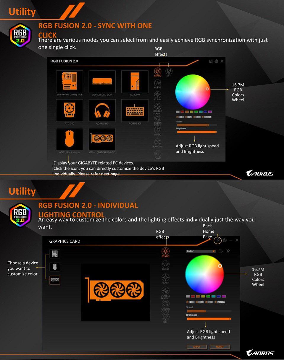 Gigabyte Radeon RX 5500 XT Gaming OC 4GB features 4