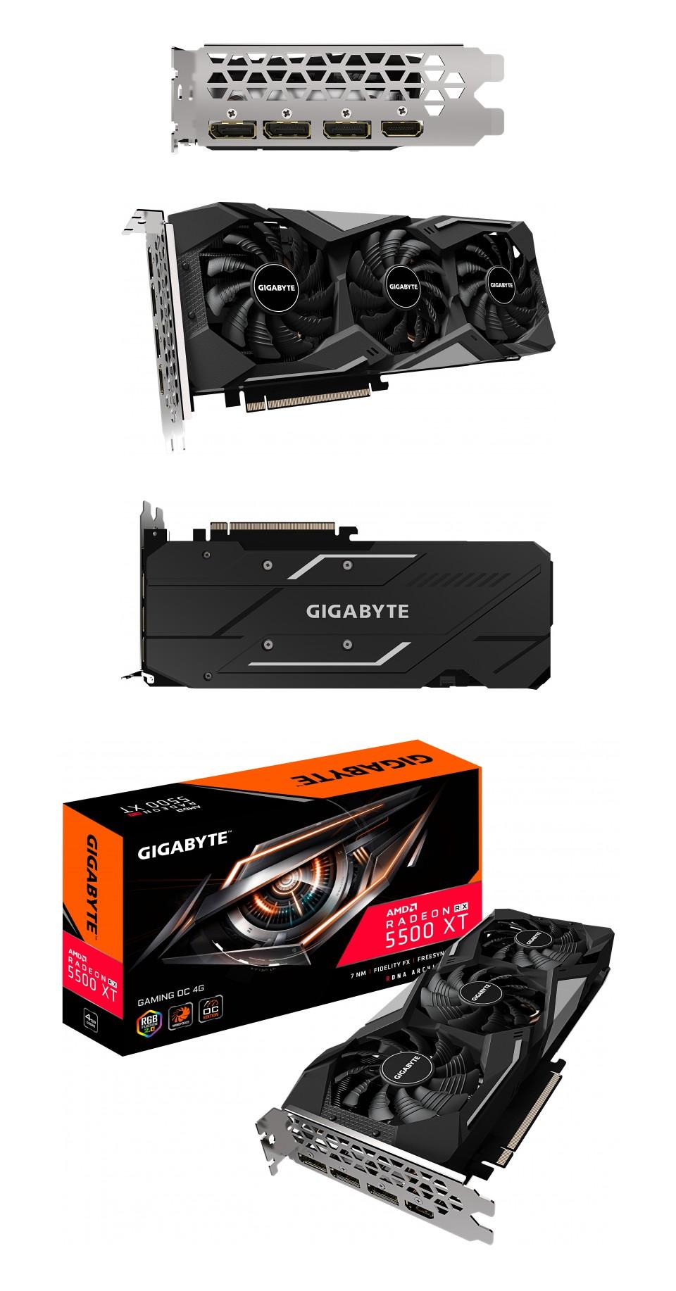 Gigabyte Radeon RX 5500 XT Gaming OC 4GB product