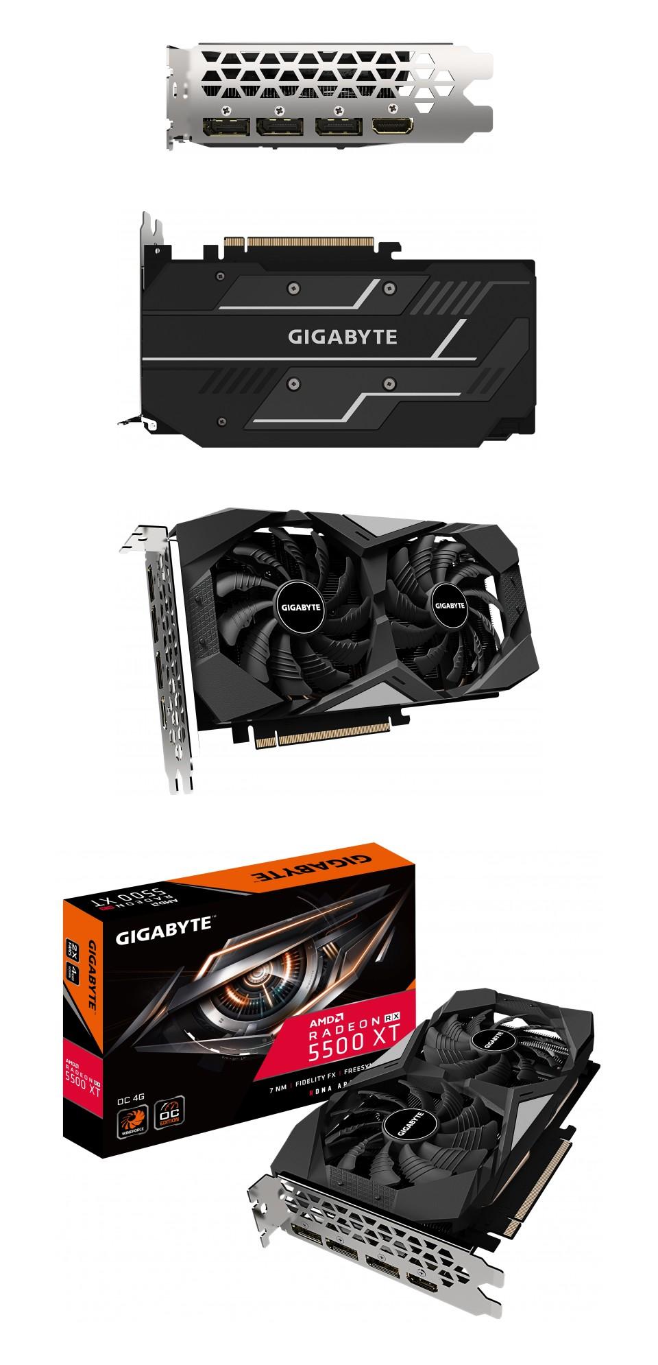 Gigabyte Radeon RX 5500 XT OC 4GB product