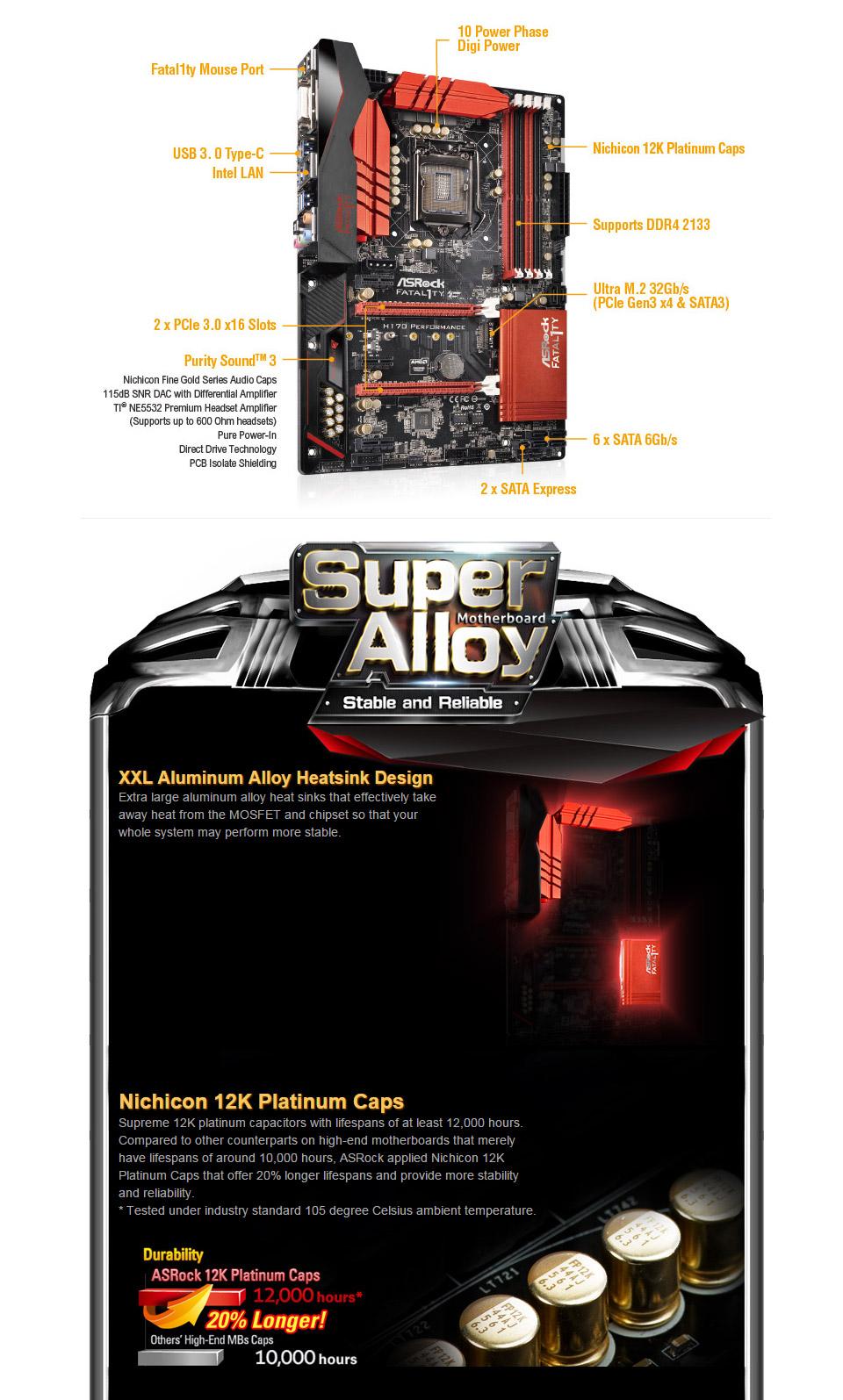 Drivers: ASRock Fatal1ty H170 Performance Intel LAN