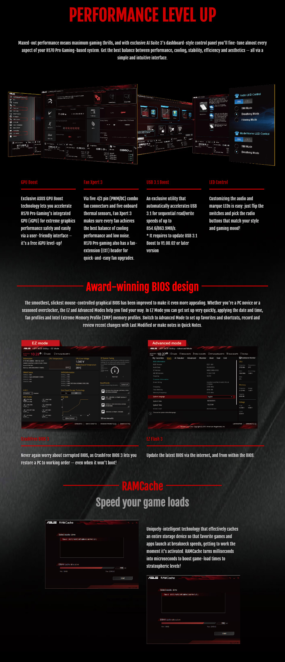 ASUS H170 PRO GAMING Motherboard [H170-PRO-GAMING] : PC ...