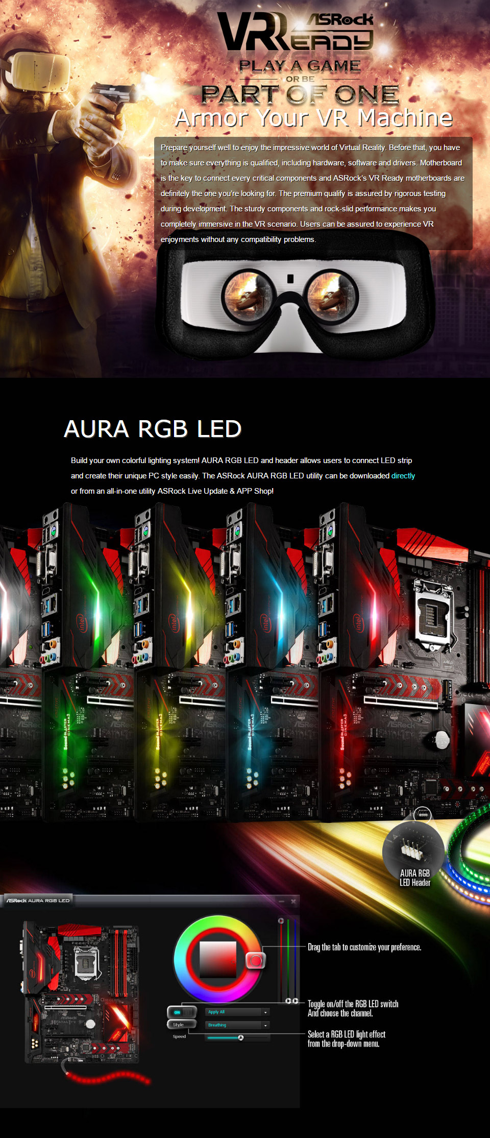 ASRock H270 Performance Motherboard [H270-PERFORMANCE] : PC Case Gear