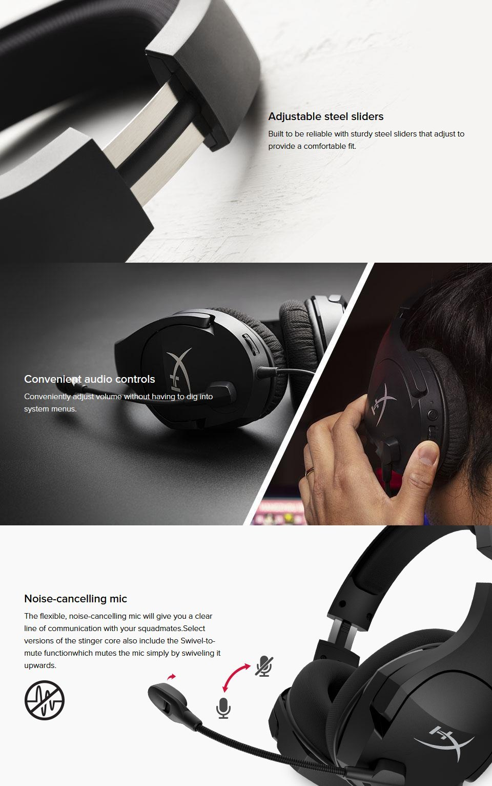 HyperX Cloud Stinger Core Wireless 7.1 Gaming Headset features 2