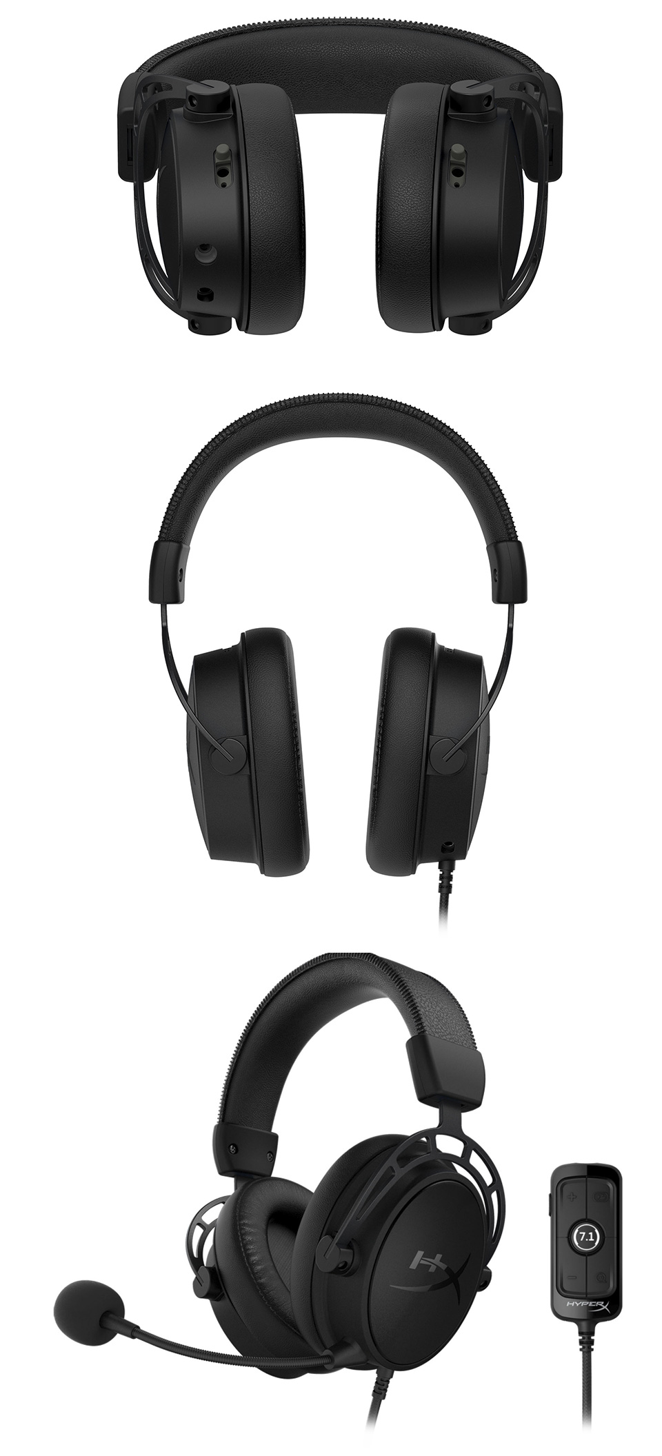 HyperX Alpha S Gaming Headset Black product