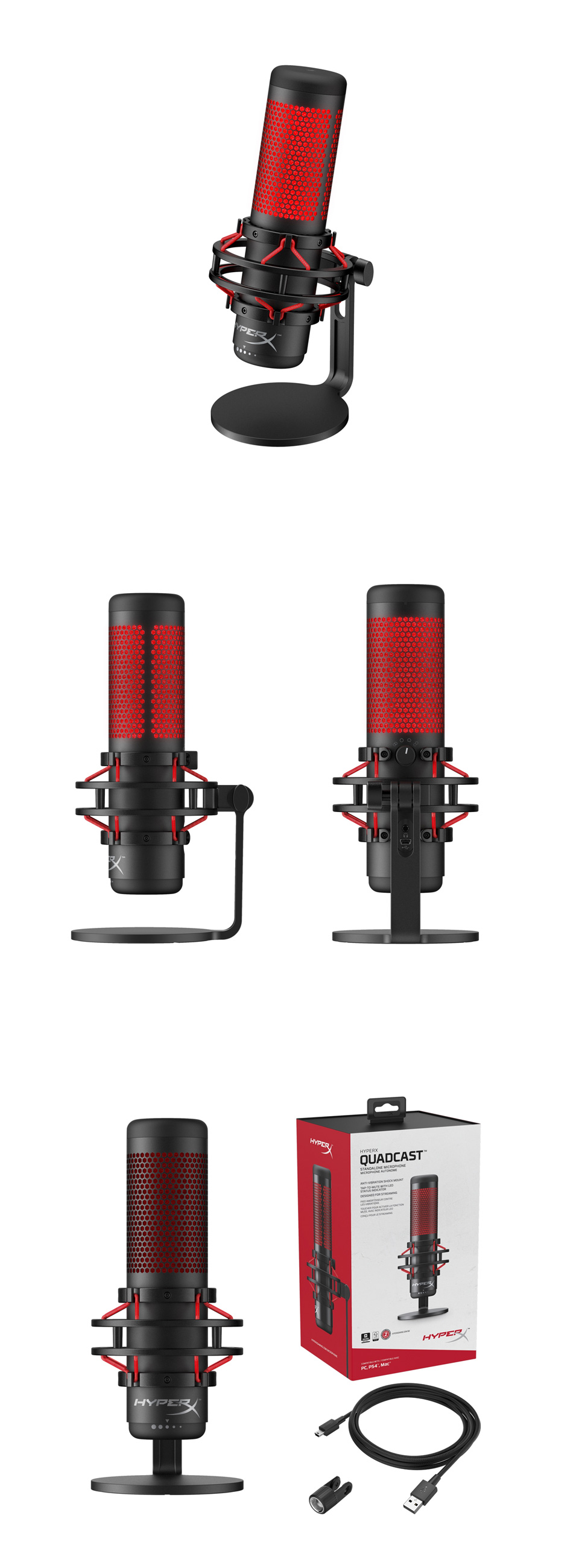 HyperX QuadCast Microphone product