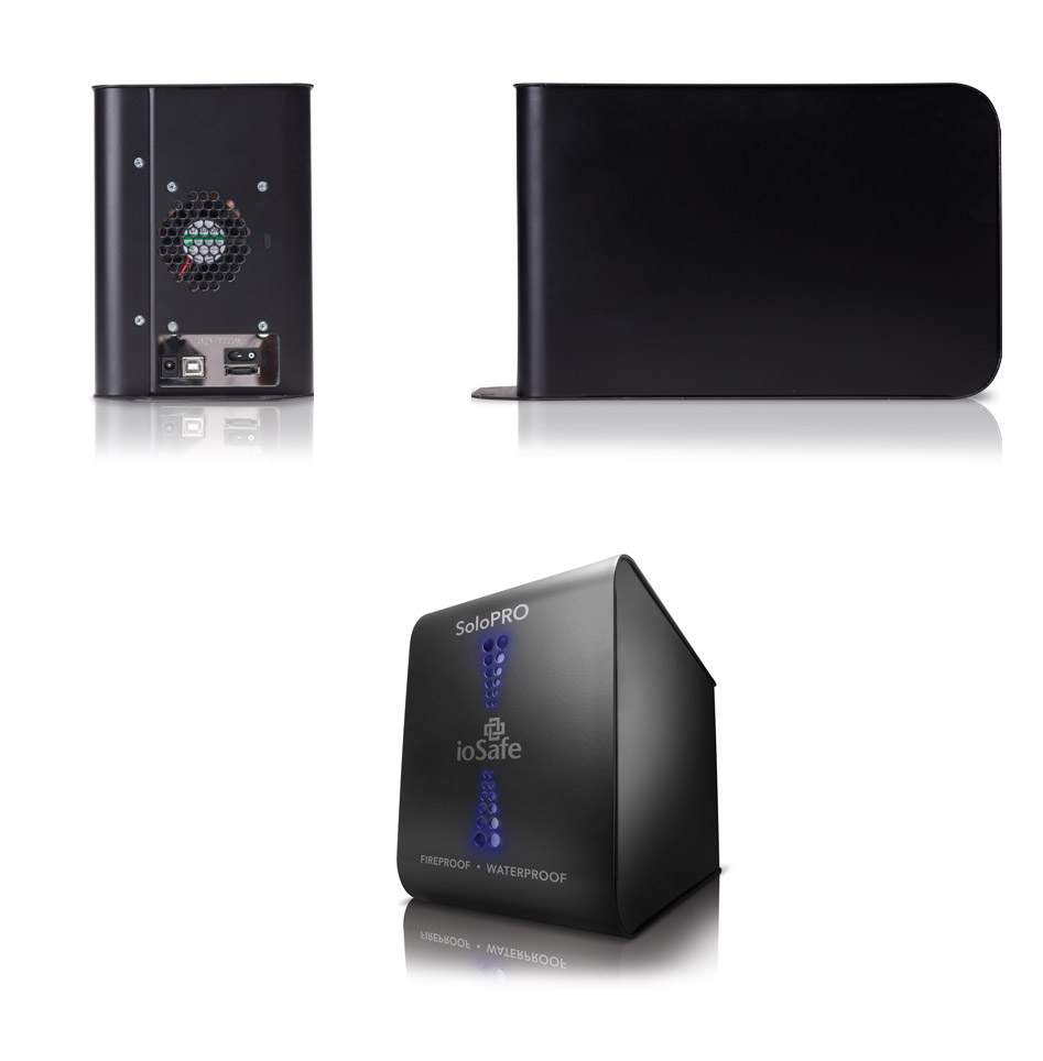 Fireproof Pc Case : Iosafe solo pro tb fireproof and waterproof hdd is