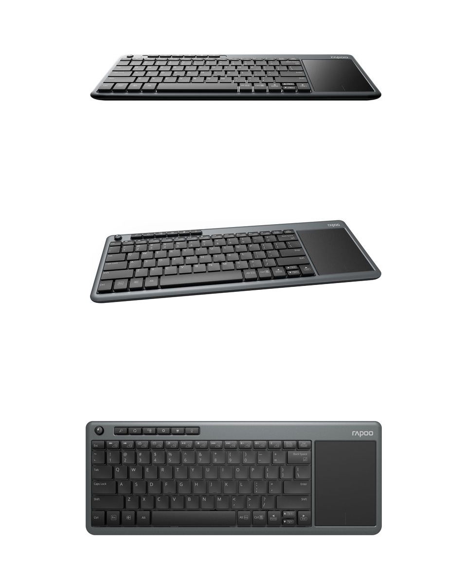 Rapoo K2600 Wireless Multimedia Touchpad Keyboard product