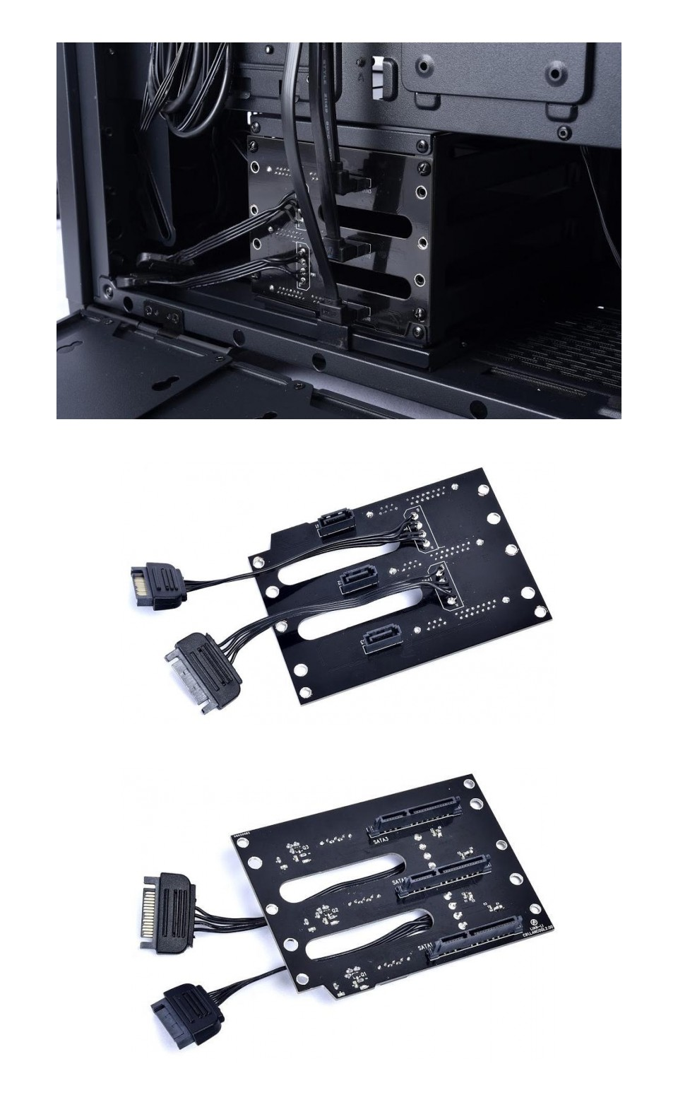 Lian Li HDD and SSD Hot Swap Backpanel For Lancool Two product
