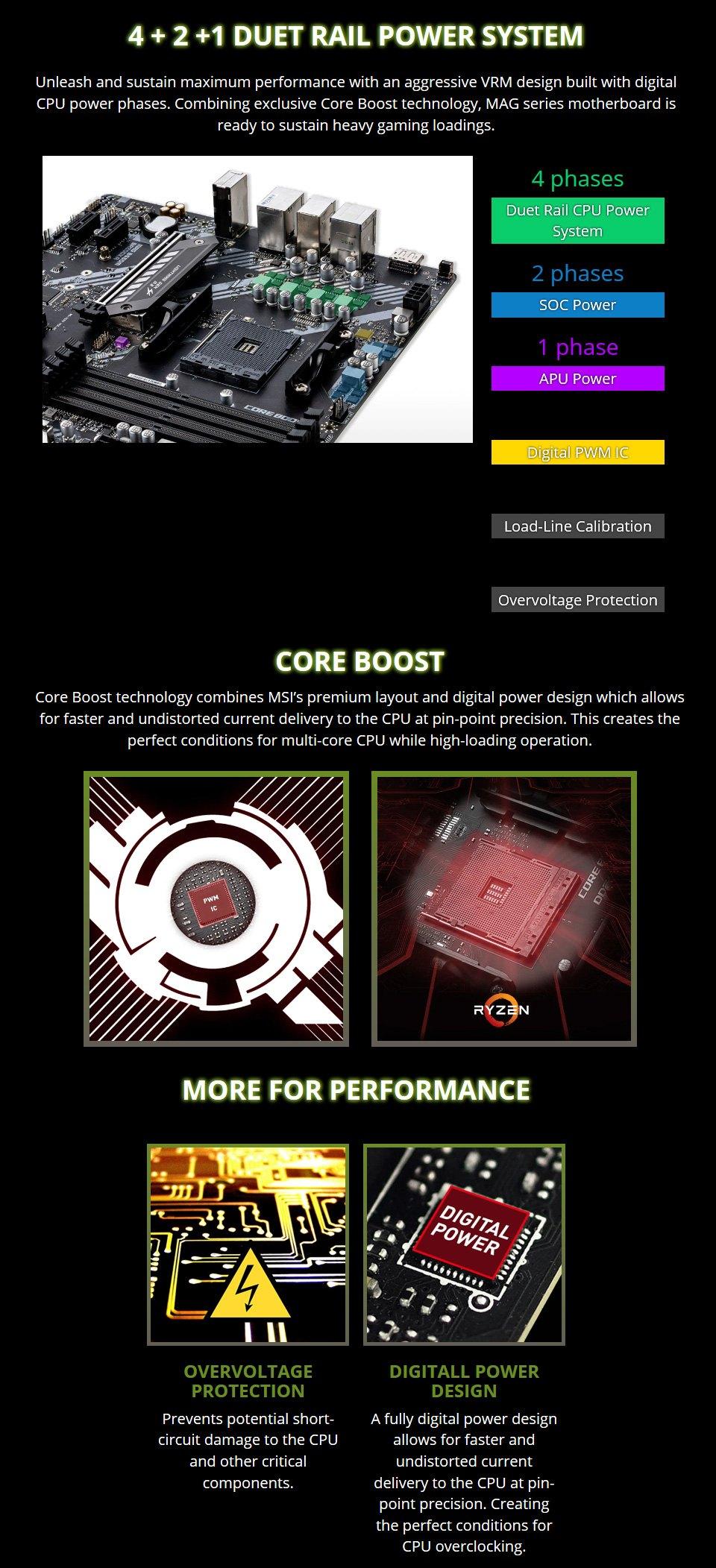 MSI MAG B550M Bazooka Motherboard features 2