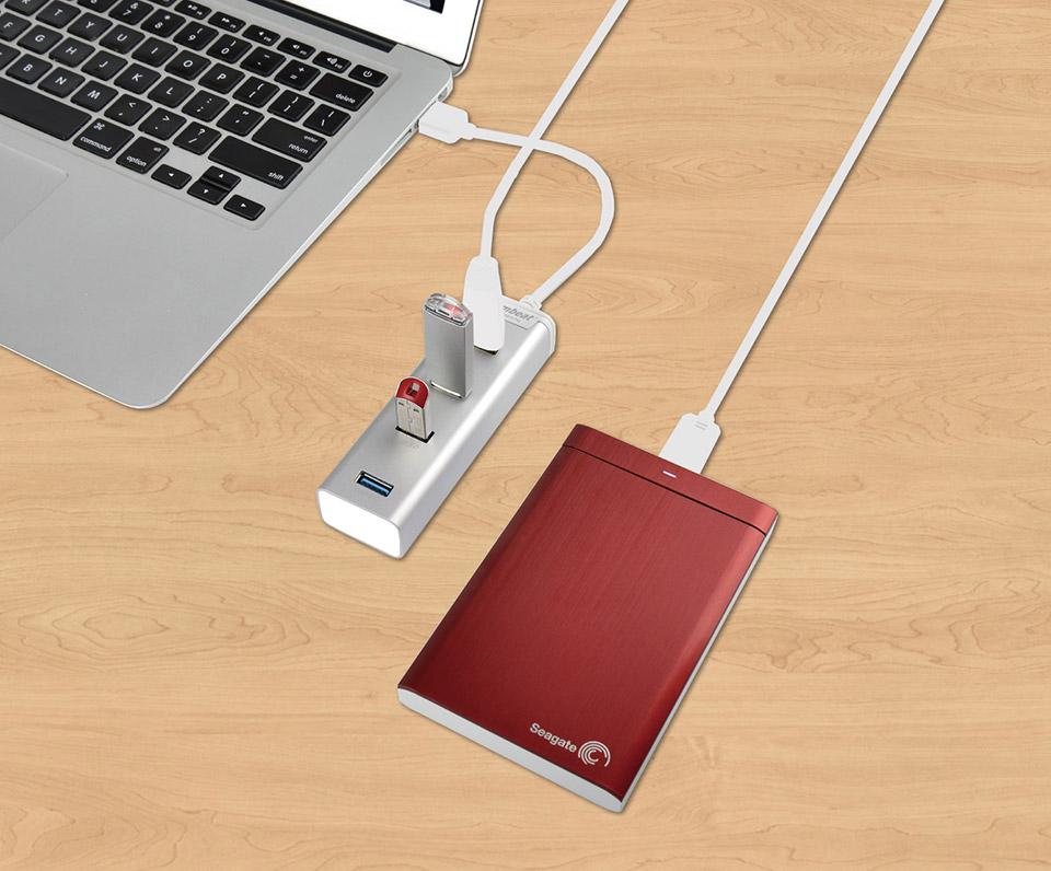 MB-HUB43ST mbeat STICK 4-Port USB 3.0 Hub
