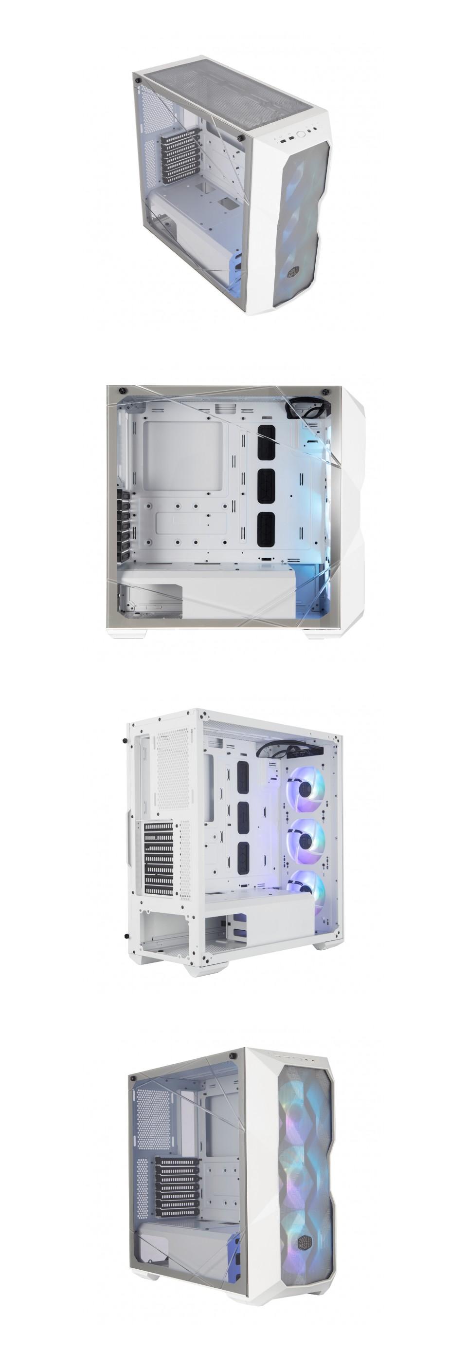 Cooler Master MasterBox TD500 ARGB Mesh Case White product