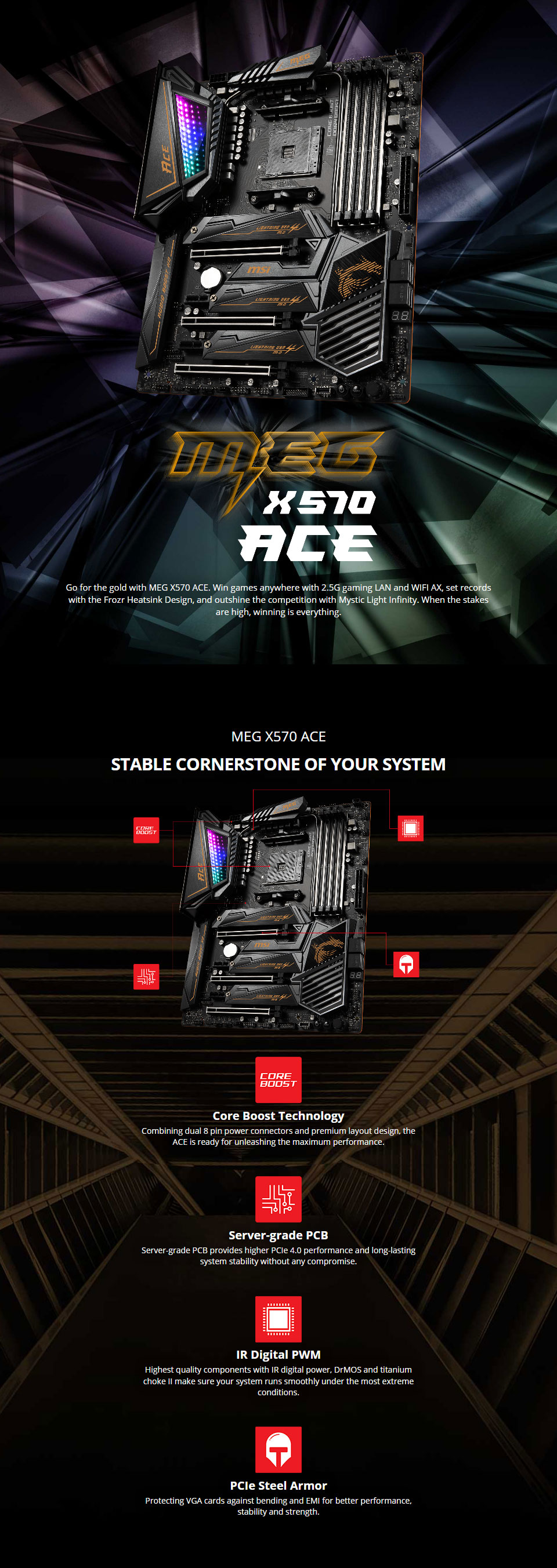 MSI X570 Ace Motherboard
