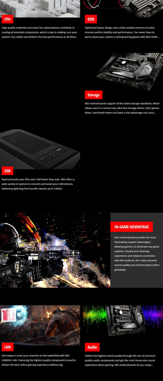 MSI MEG Z390 ACE Gaming Motherboard
