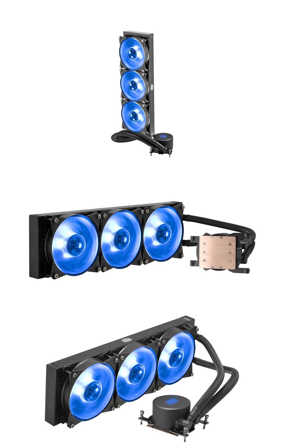 Cooler Master MasterLiquid ML360 RGB AIO Cooler for TR4